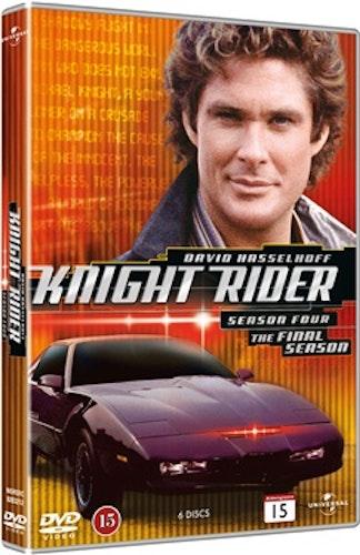 Knight Rider - Säsong 4 DVD UTGÅENDE