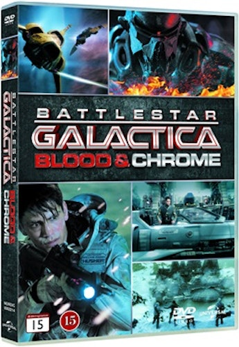 Battlestar Galactica: Blood & Chrome DVD UTGÅENDE