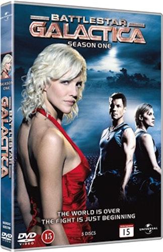 Battlestar Galactica (2004) - Säsong 1 DVD UTGÅENDE