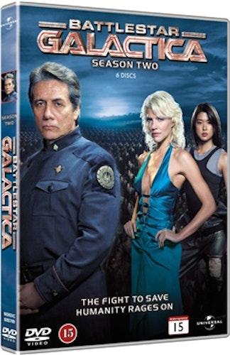 Battlestar Galactica (2004) - Säsong 2 DVD UTGÅENDE