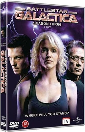 Battlestar Galactica (2004) - Säsong 3 DVD UTGÅENDE