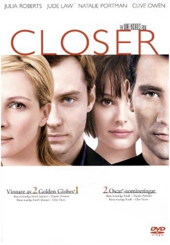 Closer DVD UTGÅENDE