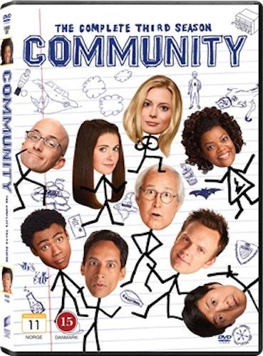 Community säsong 3 DVD UTGÅENDE