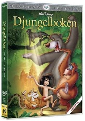 Djungelboken 40 årsjubileumsutgåva DVD (2-disc) beg