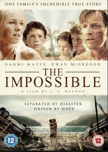 The Impossible (2012) DVD (beg)
