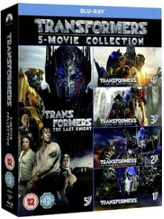 Transformers 1-5 Movie Collection (5 Films) bluray