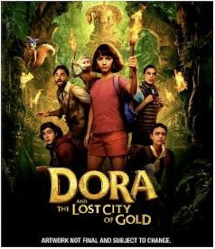 Dora utforskaren - Dora And The Lost City Of Gold DVD
