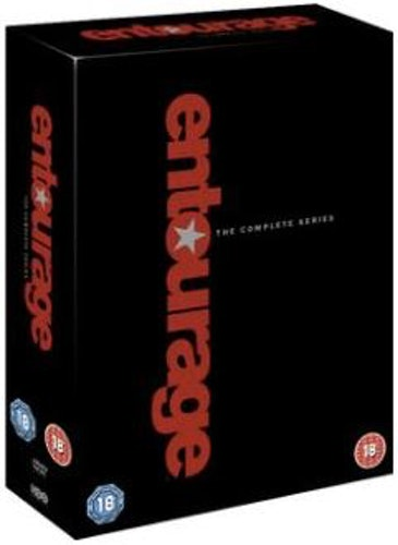 Entourage säsong 1-8 DVD (import)