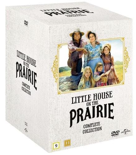 Lilla Huset På Prärien - Säsong 1-9 Samlingsbox DVD