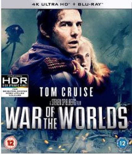 Världarnas krig (2005) - 4K Ultra HD Blu-ray + Blu-ray