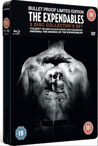 The Expendables Steelbook DVD + Blu-Ray (import)