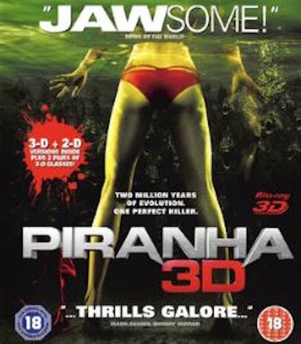 Piranha (3D Blu-ray) (Import)
