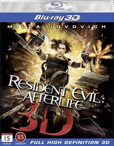 Resident Evil 4: Afterlife (Blu-ray 3D) import med svensk text