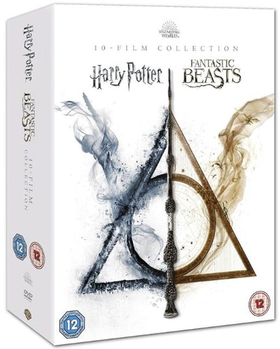 Wizarding World 10-Film Collection DVD (import)