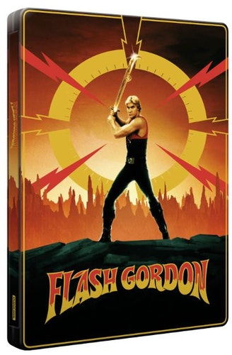 Flash Gordon (40th Anniversary Edition) - 4K Ultra HD & Blu-ray (3 discs) Steelbook