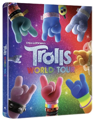 Trolls World Tour - 3D Steelbook (Includes 2D Blu-ray) import