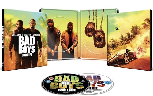 Bad Boys For Life - 4K Ultra HD Steelbook (Includes 2D Blu-ray) import med svensk text