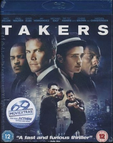 Takers (Blu-ray) (Import)
