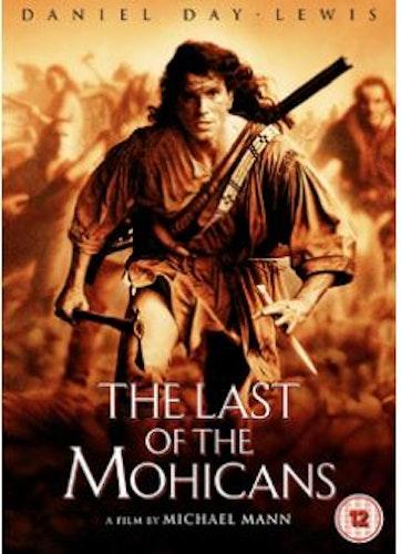 Den siste mohikanen DVD (import)