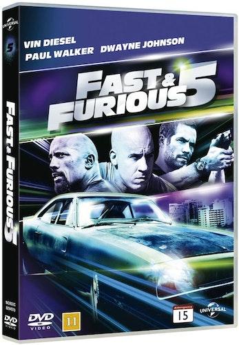 Fast & Furious 5 DVD