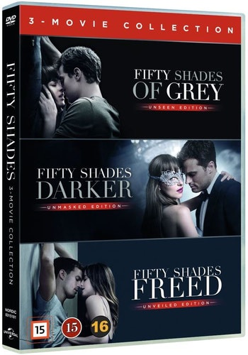 Fifty Shades: 1-3 Film Collection DVD