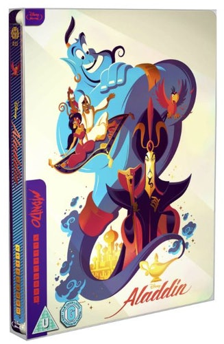 Aladdin - Mondo #35 Limited Edition Steelbook (import)