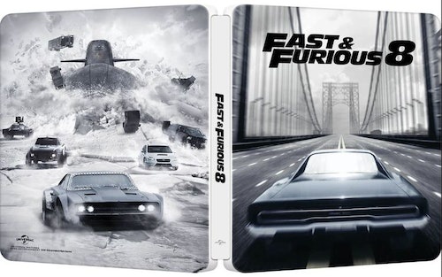 Fast & Furious 8 - Limited Edition Steelbook (import)