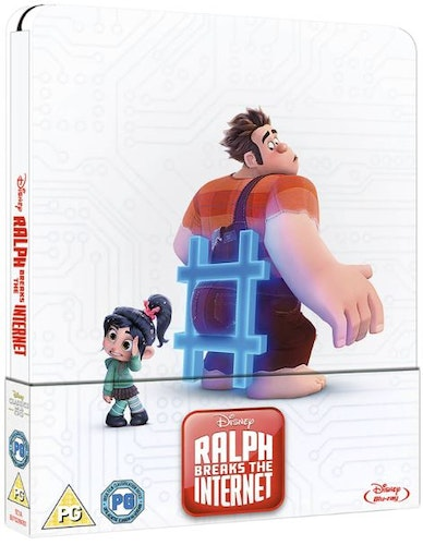 Ralph Breaks the Internet – Limited Edition Steelbook (import)