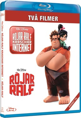 Röjar Ralf 1-2 Box bluray