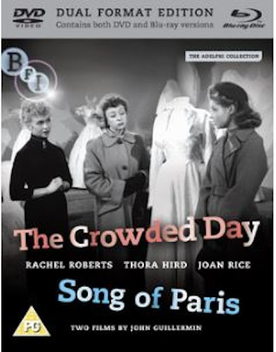 The Crowded day / Song of Paris (Blu-ray + DVD) (Import)