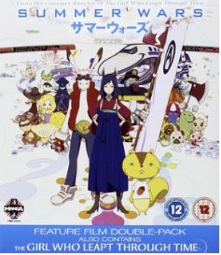 Summer wars + Girl who leapt through time (Blu-ray) (Import)