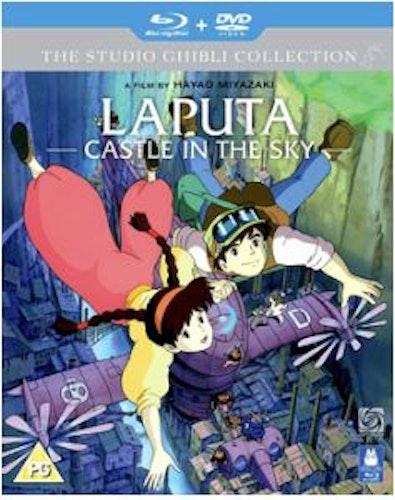 Laputa - Castle in the sky (Blu-ray + DVD) (Import)