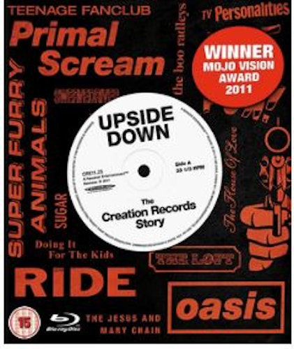 Upside Down - The Creation Records Story bluray (import)