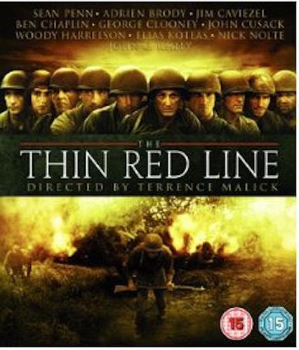 Den tunna röda linjen (Blu-ray) import