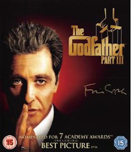 Gudfadern/the godfather 3 (Blu-ray) import med svensk text