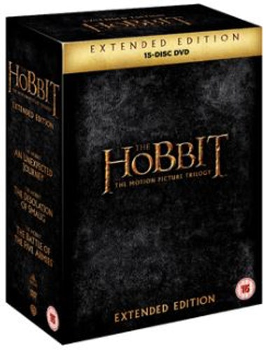 The Hobbit - Trilogy Extended Edition DVD (import)