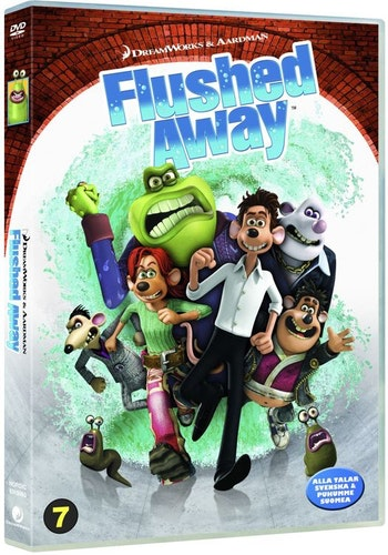 Bortspolad DVD