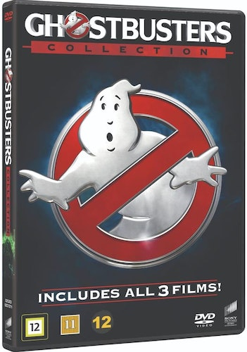 Ghostbusters 1-3 (3-disc) DVD