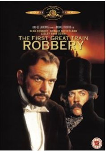 The First Great Train Robbery/det stora tågrånet DVD (import med svensk text)
