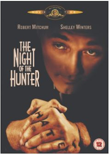 The Night of the hunter DVD (Import Sv.Text)