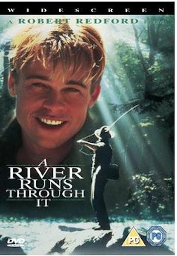 Där Floden Flyter Fram/A River Runs Through It DVD (Import)