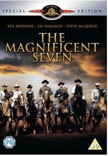The Magnificent Seven DVD (Import Sv.Text)
