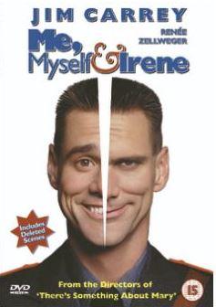 Mina jag & Irene/Me, Myself & Irene DVD (import med svensk text)