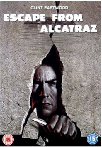 Flykten från Alcatraz/Escape from Alcatraz DVD (Import Sv.Text)