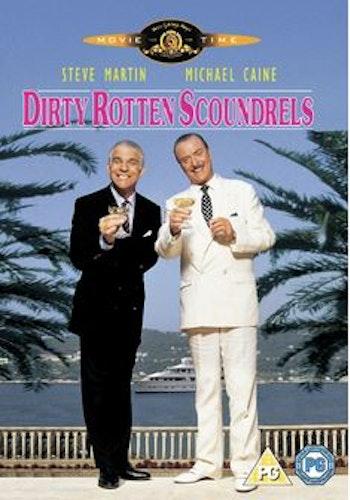 Rivierans guldgossar/Dirty Rotten Scoundrels DVD (Import Sv.Text)