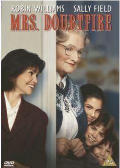 Mrs Doubtfire DVD (import)