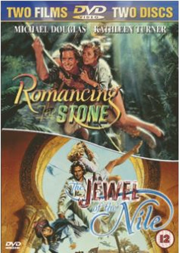 Romancing the Stone & Jewel of the Nile (2-Disc) DVD (Import Sv.Text)