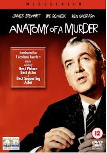 Anatomy of a Murder DVD (Import Sv.Text)
