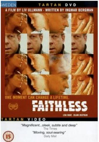 Faithless (Trolösa) DVD (Import med svenskt tal)