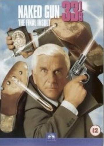 Den nakna pistolen 33 1/3 DVD (import med svensk text)